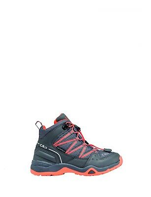 CMP trekking shoes hiking boots grey waterproof quick Lacing