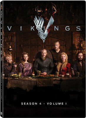 Vikings Season 4 Volume 1 Dvd DVD