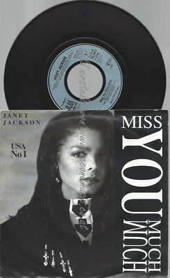 "7""   Janet Jackson ‎– Miss You Much"