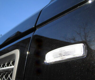 Clear SIDE REPEATERS Indicators for Range Rover SPORT HSE supercharged wing