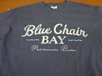 Blue Chair Bay Premium Rum - Kenny Chesney T shirt - Medium  F1