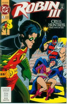 Robin II: Cry of the Huntress # 5 (of 6) (newsstand ed.) (Tom Lyle) (USA, 1993)