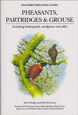 MADGE PHIL HELM BIRD BOOK PHEASANTS PARTRIDGES AND GROUSE hardback BARGAIN new