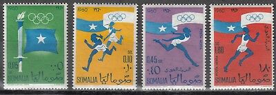 Somalia Nr. 8-11** Olympia 1960 in Rom / Olympic Games 1960 Rom