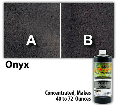 Professional Easy to Apply Water Based Concrete Stain Onyx 8oz