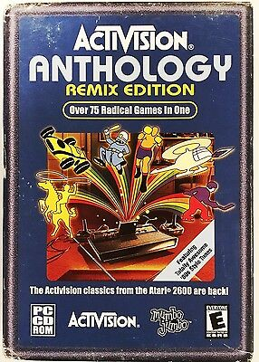 Activision Anthology Remix Edition PC CD Rom Sealed 2003 Over 75 Games in One