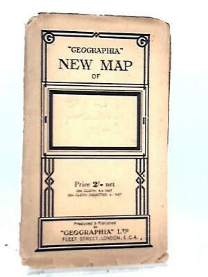 Geographia New Main Roads Map England and Wales Book (Anon - 1111) (ID:67706)