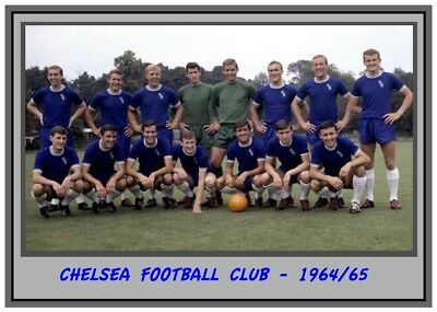Collectors/Photograph/Print/Chelsea/Team/Squad/Photo/1964/1965 Season
