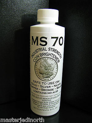 Ms-70 Coin Brightener 8 Oz