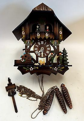 Vintage GERMAN CUCKOO CLOCK With Swiss Musical Movement - Spares Repairs - I05