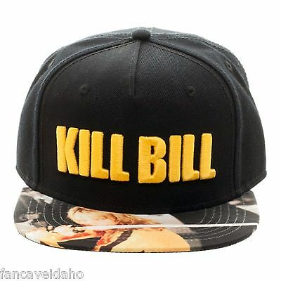 612552c99b2 MIRAMAX KILL BILL Embroidered Logo Sublimated Flatbill Snapback Cap ...