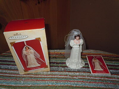 Hallmark Keepsake Christmas Ornament Scarlett O'hara Gone With The Wind Guc