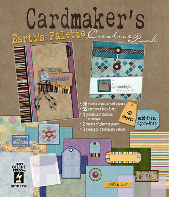 """CARDMAKER'S """"Earth's Palette"""" CREATIVE PACK  Hot Off the Press"""