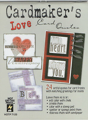 "Cardmaker's ""Love"" Card Quotes CARDMAKING"