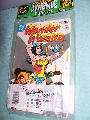 Wonder Woman , Action  Comics , All- Star Comic , Dynamic Comics 3 Pack ,comics