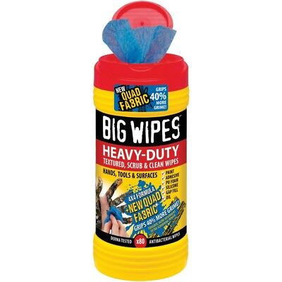 Toallitas limpiadoras de doble cara BIG WIPES 40 toallitas