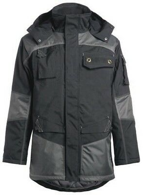 Ropa laboral. Parka acolchada.Color NEGRO. Talla-4XL NORTHWAYS