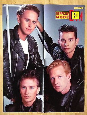 bravo poster depeche mode dave gahan alan wilder. Black Bedroom Furniture Sets. Home Design Ideas
