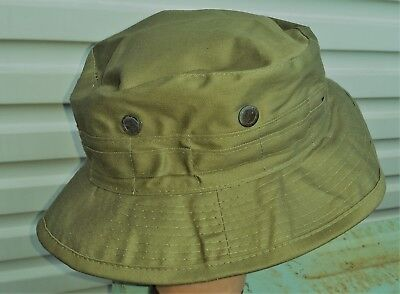 Bush Hat Olive Green British / Australian - Malaya / Vietnam Reproduction