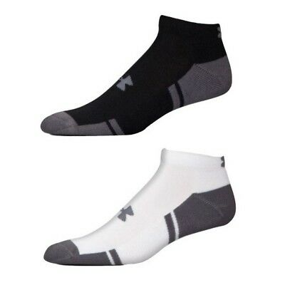 Under Armour 1282432 Men's UA Resistor III Lo Cut Socks Pack of 6 Size M-XL