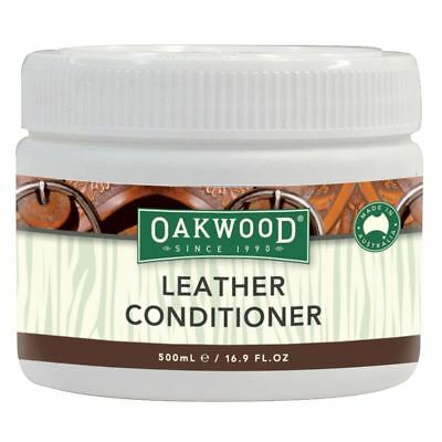 Oakwood Leather Conditioner & Protector - Natural Leather Cream 500Ml