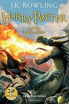 Harry Potter And The Goblet Of Fire Book 4 by J. K. Rowling Hardback BRAND NEW
