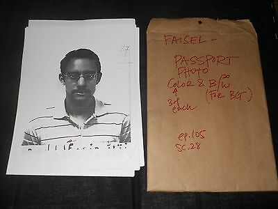HOMELAND PRODUCTION USED Prop SS 1&2 FAISEL PASSPORT 20+ PHOTO Copies