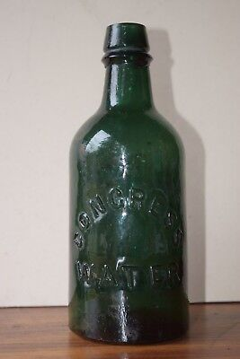 CONGRESS SPRING CO SARATOGA NEW YORK CONGRESS WATER 7 3/4 inch
