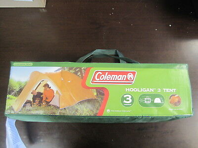 Coleman Hooligan 3-Person Tent Gold & COLEMAN HOOLIGAN 3-Person Tent Gold - $74.99 | PicClick