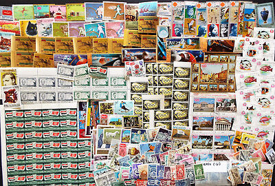 Large Mix Of Stamps From Yemen