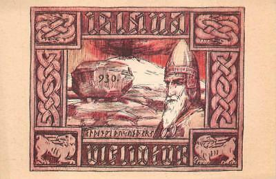 NORSE HISTORY ICELAND POSTCARD (c. 1910)