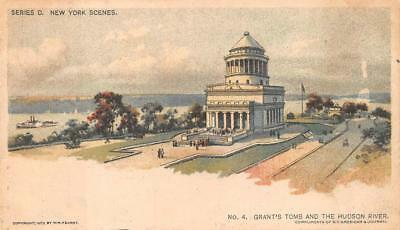 Grant's Tomb Hudson New York Chicago Sunday American Newspaper Postcard (1903)