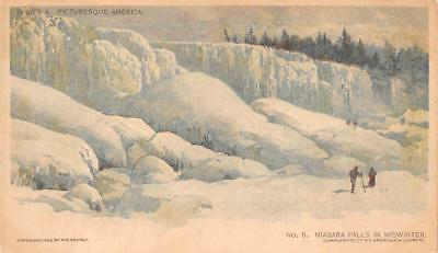 New York Niagara Falls Chicago Sunday American Newspaper Postcard (1903)
