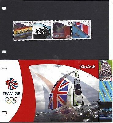 Isle Of Man 2016 Rio 2016 Olympic Games Presentation Pack