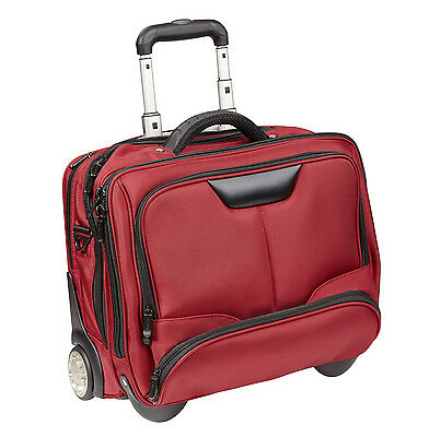 Trolley Dermata Business Xl Laptoptrolley Trolly 17 Zoll  Notebook  B Ware Rot