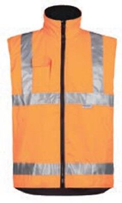 Ropa laboral .Chaleco multibolsillos NARANJA.Talla-4XL NORTHWAYS 2271 Wiley