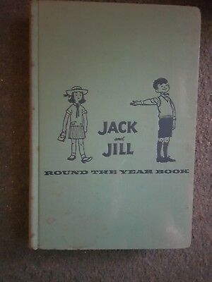 Jack And Jill Round The Year Book- Little, Brown- H/b - 1958 - £3.25 Uk Post