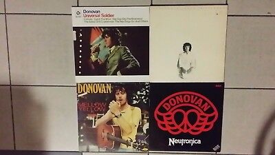 Donovan ‎: 4 x LP : Universal Soldier + Neutronica + Mellow Yellow + Essence ...