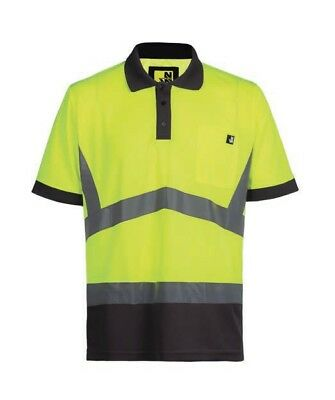 Ropa laboral .Polo tejido transpirable.AMARILLO.Talla-4XL NORTHWAYS 1226 Apollo