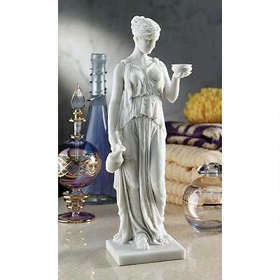 Daughter of Zeus Statue Hebe Mythological Youthful Greek Sculpture NEW