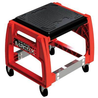New Matrix M50 Mechanics Rolling Chair Service Tool Pit Stand Mx Motorcycle Red
