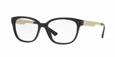 7d511243c8d NEW AUTHENTIC VERSACE Eyeglasses VE 3240 gb1 Made In Italy 52mm MDH ...