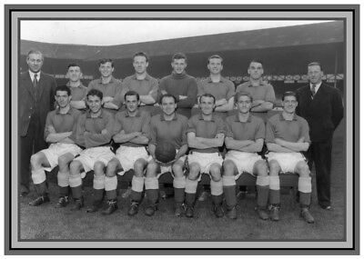 Collectors/Photograph/Print/Everton/Team/Photo/Squad/1954 Season