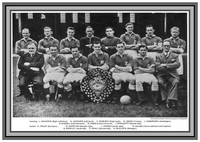Collectors/Photograph/Print/Leicester City/Team/Photo/Squad/1954/DIV 2/Champions