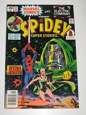Spidey Super Stories 31  A Star Wars Spoof  Unread High Grade Very Rare