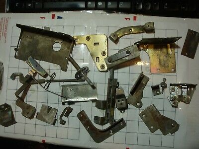Nishijin PACHINKO replacement repair PARTs lot ALL METAL hinges lock lever +more