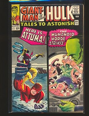 Tales To ASTONISH # 64 VG/Fine Cond.