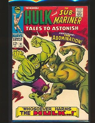 Tales To ASTONISH # 91 Fine/VF Cond.