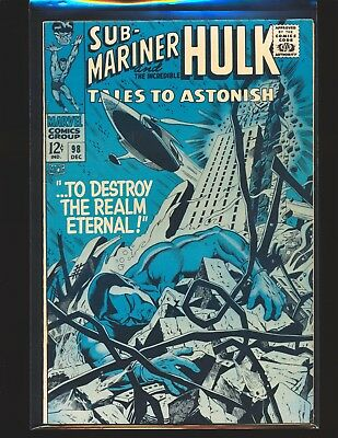 Tales To ASTONISH # 98 Fine+ Cond.