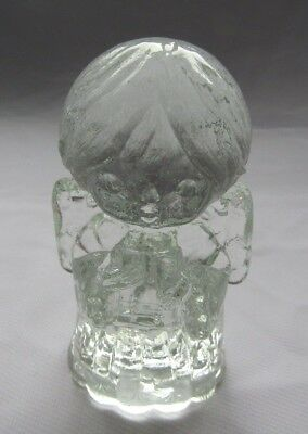 Mosser Original Glass  Singing Angel  Crystal Clear  # 1